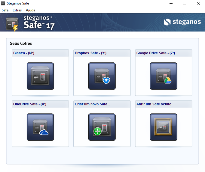 Steganos Safe - Cofre Virtual