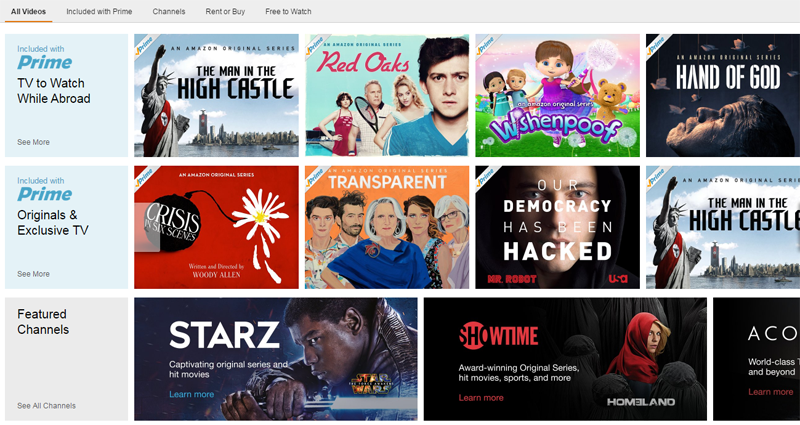 Como acessar a Amazon Instant Video