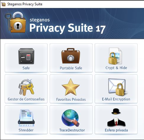 Abrir Steganos Privacy Suite