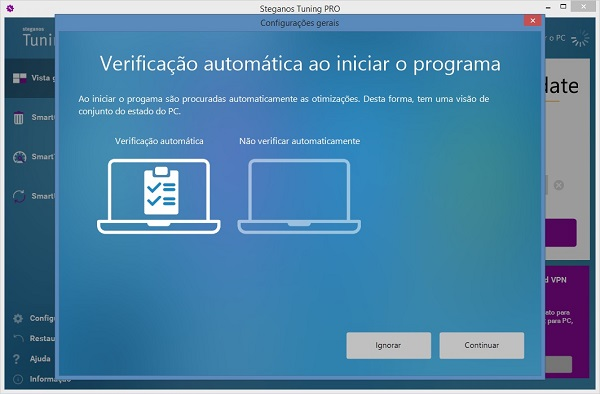deixar as definições do Windows mais rápidas